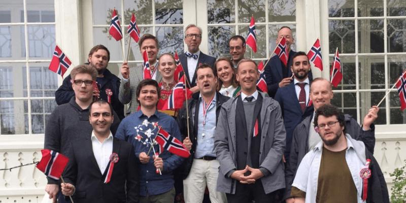 InfoCaption firar 17e maj i Oslo